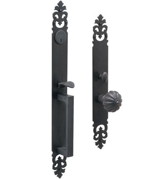 Mortise Princeton Single Cylinder Handleset