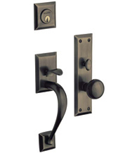 Concord Single Cylinder Mortise Handleset, Baldwin 6571