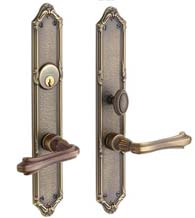 Lakewood Mortise Entry Set With Clawfoot Lever, Baldwin 6922