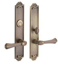 Ornate Mobile Mortise Entry Set, Baldwin 6938