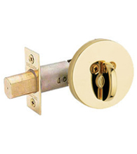 Contemporary One Sided Patio Deadbolt, Baldwin 8241.PAT