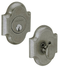 Grade 1 Arched Single Cylinder Deadbolt, Baldwin 8252