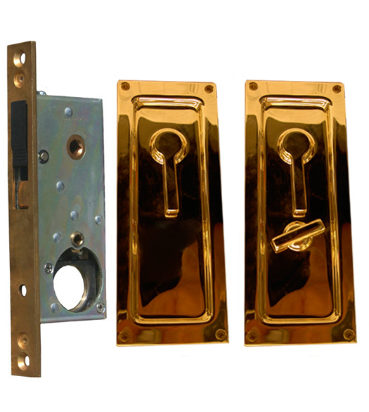 Baldwin Sliding Or Pocket Door Privacy Lock Doorware Com