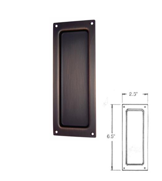 Charleston Pocket Door Flush Pull Baldwin 8571 Doorware Com