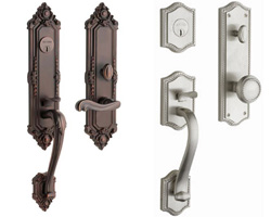 Baldwin Estates Tubular Lock Entrance Trim
