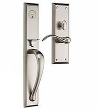 Cody Full Escutcheon Handleset, Baldwin M504