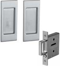 Santa Monica Pocket Door Passage Set, Baldwin PD006-PASS