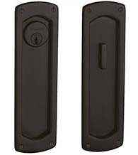 Keyed Entry Palo Alto Pocket Door Set, Baldwin PD007-ENTR