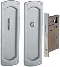 Privacy Palo Alto Pocket Door Set, Baldwin PD007-PRIV