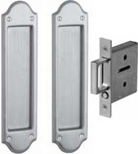 Boulder Pocket Door Passage Set, Baldwin PD016-PASS