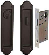 Boulder Pocket Door Keyed Entry, Baldwin PD016-ENTR