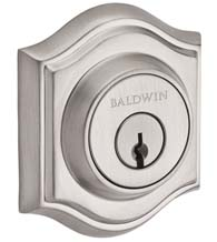 Traditional Arched Rose Deadbolt, Baldwin TAD