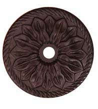 Flower Knob Backplate, RK International BP-482