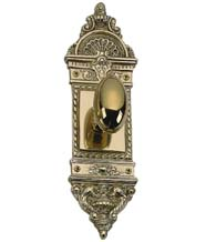 Ornate Egg Knobset with L'Enfant Plate, Brass Accents D04-K561-WIN
