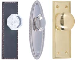 Decorative Door Knobs and Levers