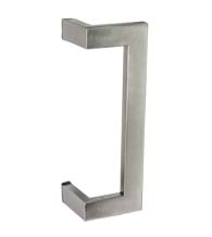 10 Inch Stainless Steel Rectangular Offset Pull