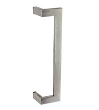 24 Inch Stainless Steel Rectangular Offset Pull