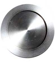 2-3/4 Inch Round Stainless Steel Flush Pull, Canaropa JNF-FP225-70-630