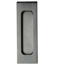 4-11/16 Inch Rectangular Satin Stainless Steel Flush Pull, Canaropa JNF-FP228-630