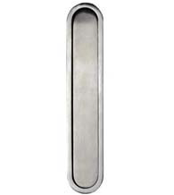 Modern 6 Inch Oblong Edge Pull, Canaropa JNF-EP312-630