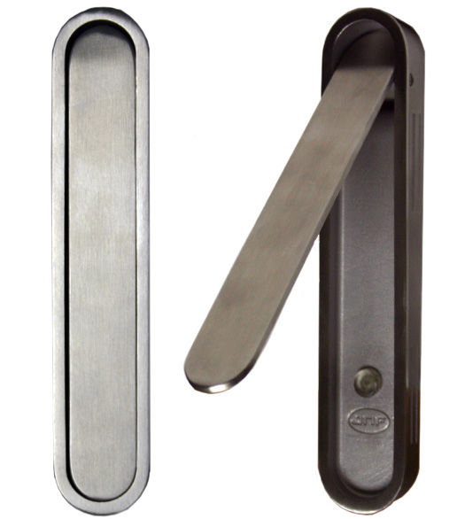 6 Satin Stainless Steel Edge Pull