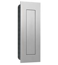 Modern Stainless Steel Flush Pull With Flush Cover