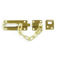 Door Security Chain With Doorbolt, Deltana CDG35