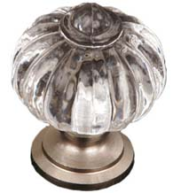 Clear Acrylic Cabinet Knob, RK International CK-1AC
