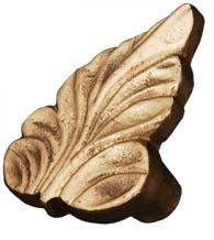 Leaf Cabinet Knob, RK International CK-202