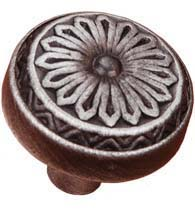 Southwest Flower Cabinet Knob, RK International CK-206