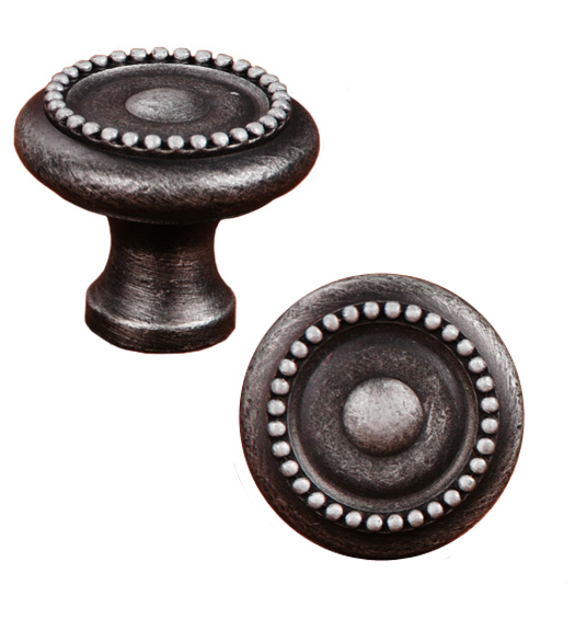 Beaded Cabinet Knob with Tip