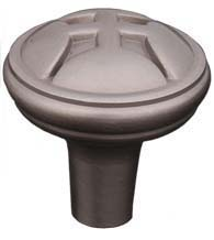 Solid Brass Four Petal Cabinet Knob, RK International CK-9314