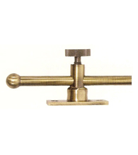 Solid Brass 10 Inch Window Casement Stay Adjuster, Deltana CSA10