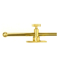 Solid Brass 12 Inch Window Casement Stay Adjuster, Deltana CSA12