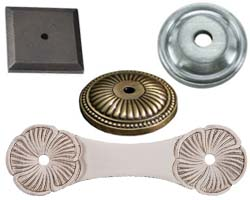 Cabinet Knob and Pull Rosettes