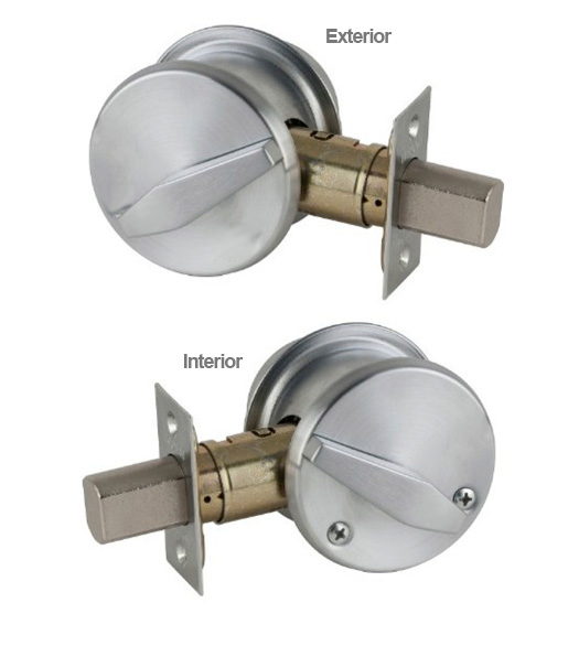 Non Keyed Double Thumbturn Deadbolt Falcon D151