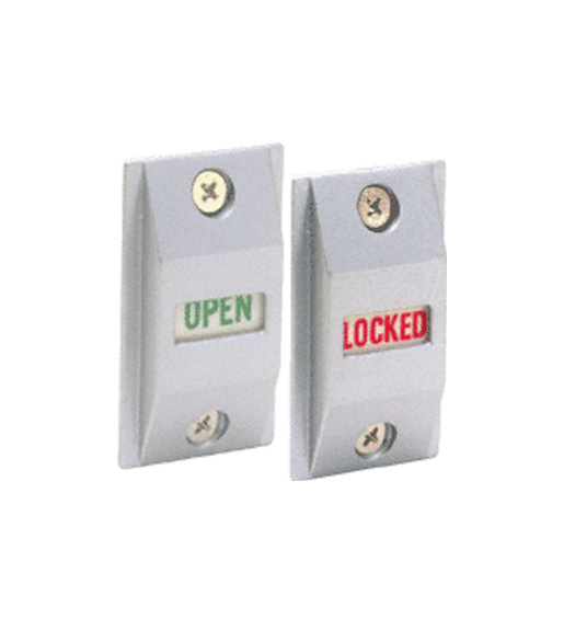 Storefront Door Lock Indicator Doorware Com