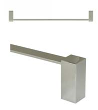 24 Inch Modern Value Towel Bar, Deltana ZA2003/24