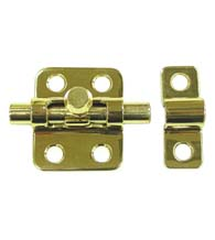 2 Inch Solid Brass Barrel Bolt, Deltana 2BB