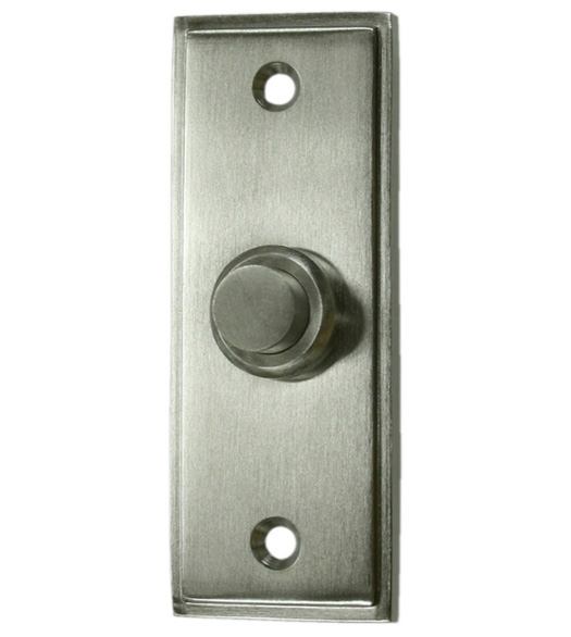 Ordinaire Contemporary Rectangular Door Bell Button