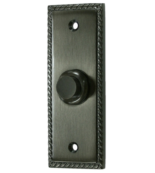 Victorian Rope Doorbell Button Deltana Bbsr333 Doorware Com