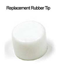 Rubber Replacement Tip for Contemporary Door Stop, Deltana BDS450-REPL-TIP