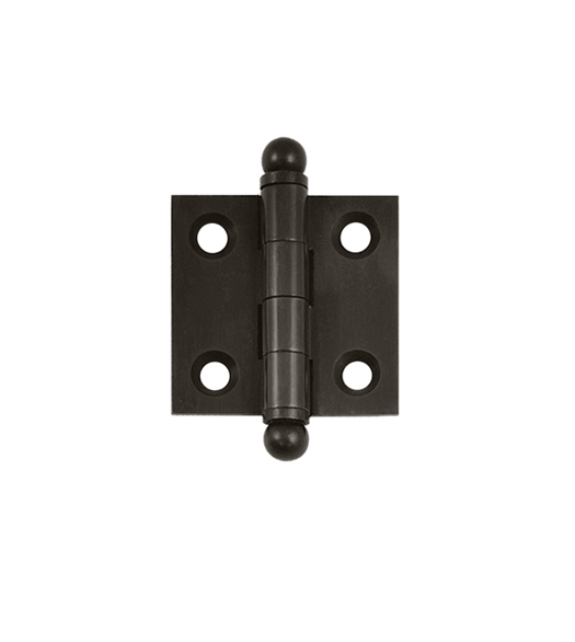 1.5 Inch Square Solid Brass Cabinet Hinge, Pair, Deltana CH1515 ...