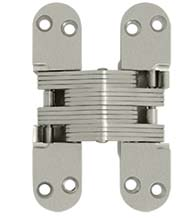 Hidden Door Hinge for 1-3/4 Thick Door, Pair, Deltana DCH218
