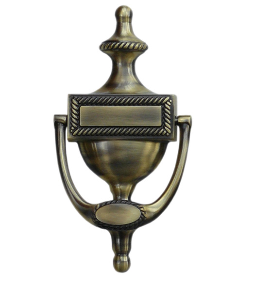 Solid Brass Victorian Door Knocker