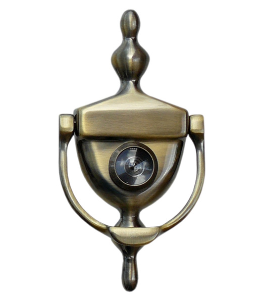 Viewer door knocker deltana dkv630 - Door knocker with peep hole ...