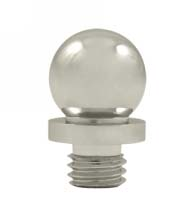 Ball Tip Solid Brass Finial, Deltana DSBT
