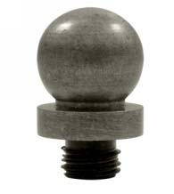 Large Ball Tip Solid Brass Finial, Deltana DSBTL