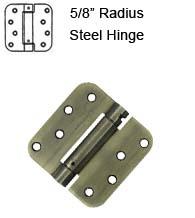 4 X 4 X 5 8 Radius Spring Hinge Doorware Com