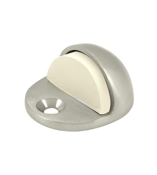 Low Profile Solid Brass Floor Dome Door Stop Doorware Com
